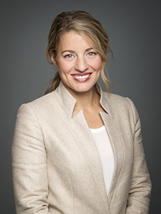 The Honourable Mélanie Joly, Minister of Canadian Heritage