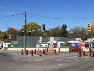 Cedarvale construction site