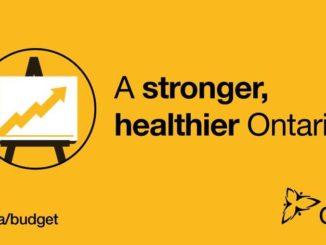 Stronger, Healthier Ontario Poster
