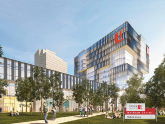 an illustration of the York University Markham Centre presented to GTA weekly Toronto