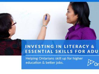 job skills poster presented by GTA weekly Toronto news