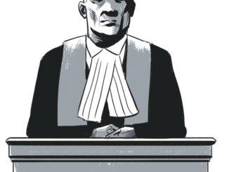 judicial court judge illustration from GTA weekly Toronto news