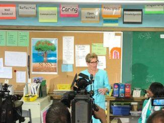 Kathleen Wynne announcing school repairs to GTA weekly Toronto news