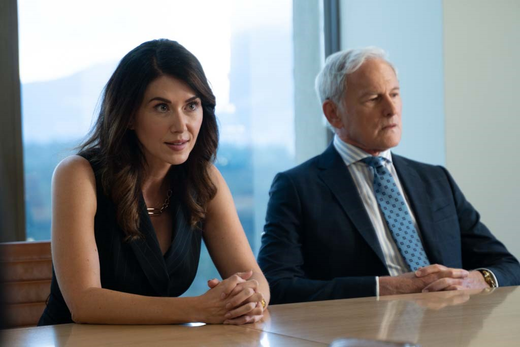 Jewel Staite and Victor Garber in Family Law